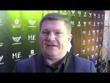 Ricky Hatton Interview - On Tyson Fury's Return To Boxing