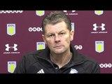 Aston Villa 2-0 Birmingham City - Steve Cotterill Post Match Press Conference - Championship
