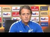 Roberto Mancini Pre-Match Press Conference - Zenit v Celtic - Europa League