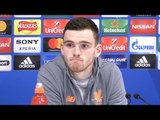 Andy Robertson Full Pre-Match Press Conference - Liverpool v Manchester City - Champions League