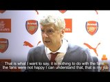 Arsene Wenger - Disunity Among Arsenal Fans Played Role In Decision To Leave