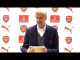 Arsenal 5-0 Burnley - Arsene Wenger Post Match Press Conference - Signs Off In Style At The Emirates
