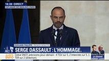 """Edouard Philippe, rend hommage à Serge Dassault: """"Il restera une grand figure éminemment moderne de notre excellence industrielle"""""""
