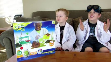 Mad Science! Gross Science kit toy for Kids. Disgusting Experiments!