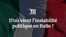 D'où vient l'instabilité politique en Italie ?