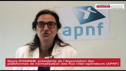 Interview d'Olivier COROLLEUR, directeur à l'ARCEP, et de Nayla KHAWAM, présidente de l'APNF (septembre 2015)