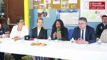 Vidéo. Poitiers : la ministre des Sports Laura Flessel développe le sport dans les quartiers prioritaires
