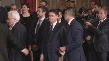 Gentiloni cede poderes a Giuseppe Conte como nuevo primer ministro de Italia
