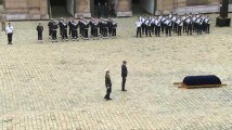 Les images des obsèques de Serge Dassault