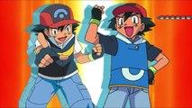 Pokemon Sun and Moon  Kalos Ash and Johto Ash Vs Sinnoh Ash and Hoenn Ash