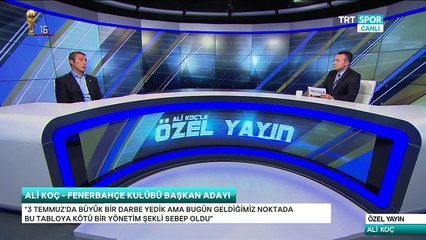 Ali Koç ile Basın Tribünü TRT Spor 29/05/2018 720p HD  Tek Parça
