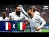França 3 x 1 Itália (HD) Melhores Momentos (1º Tempo) Amistoso Internacional 01/06/2018