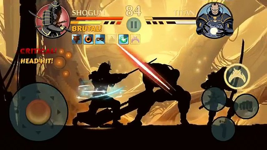 Shadow Fight 2 - SHOGUN VS TITAN