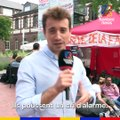 Hugo Clément a rencontré des infirmiers de l'hôpital psychiatrique de Rouen en grève de la faim