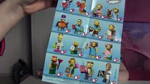 Sammelfiguren Lego Simpsons + Angry Birds Star Wars + Minion + Hot Wheels | Blind Bags Opening
