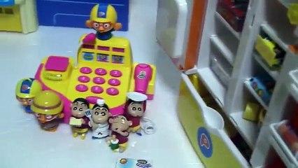 뽀로로 슈퍼마켓 장난감 Pororo Super Market Toys 짱구는 못말려
