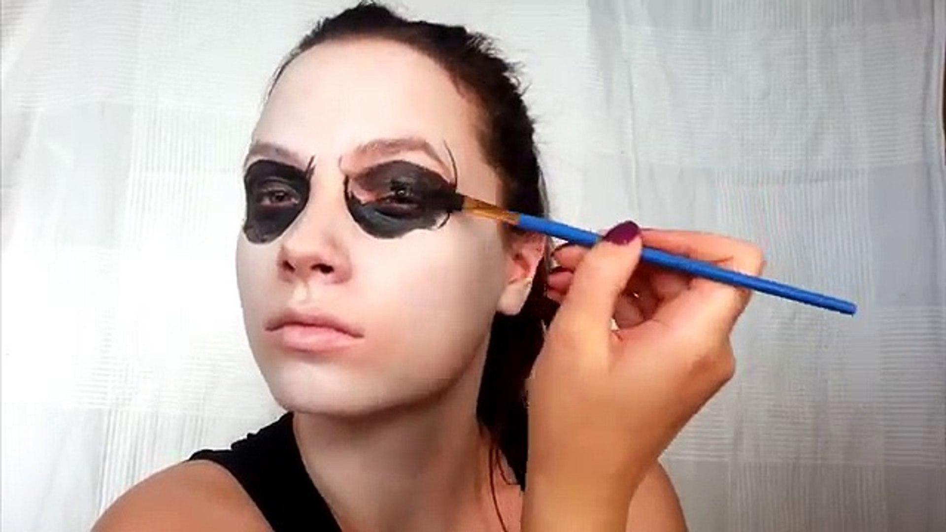 American Horror Story Tate Langdon Skull Halloween Makeup