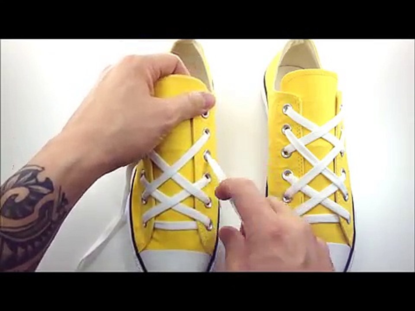 **How to Triple X Lace shoes with Lace Anchors**