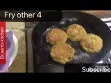 Poha cutlets-flattened rice cutlets-vegetable poha cutlets-how to make veg poha patties