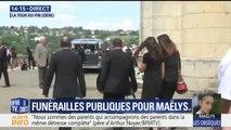 Les obsèques de Maëlys s'apprêtent à débuter