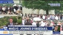 """""""Enfin en ce jour, je suis avec toi"""", prononce la mère de Maëlys aux obsèques de sa fille"""