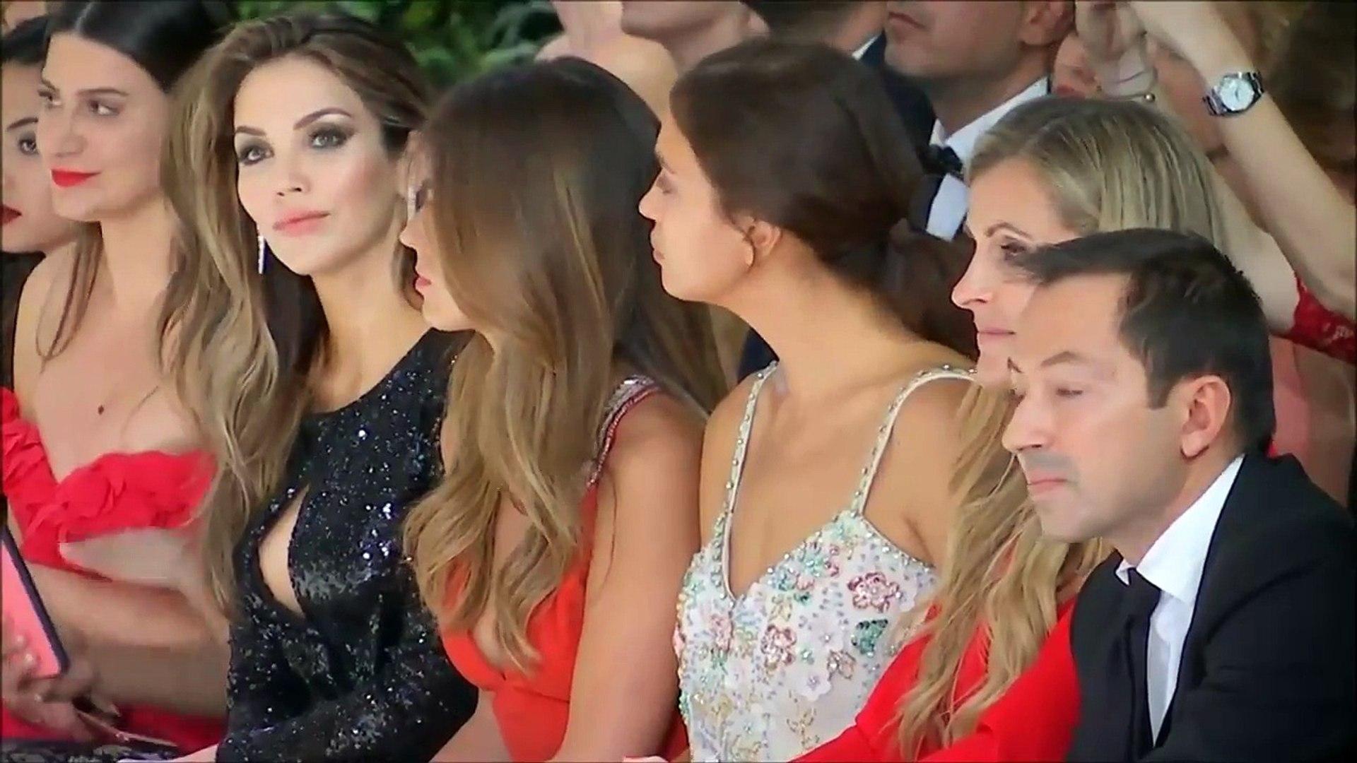 'Beautiful models, beautiful dresses' at bridal show - model Irina Shayk