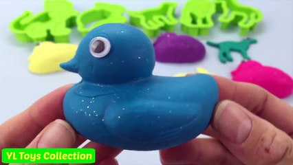 Play Doh Sparkle Ducks Fun and Creative Animal Moulds for Kids
