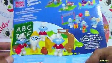 MEGA BLOKS Schoolin Smurfs and Moshi Monsters Surprise Special Moshling