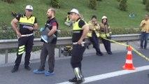Ümraniye TEM Otoyolu Sabiha Gökçen ayrımında kaza: 2 ölü, 5yaralı