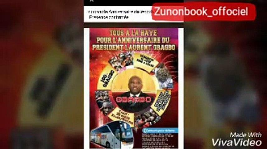 le président ADO mécontent des publications le jour de l'anniversaire du président gbagbo , il s'exprime