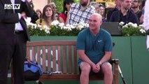 Agassi et Staff évoquent leur souvenirs de Roland-Garros
