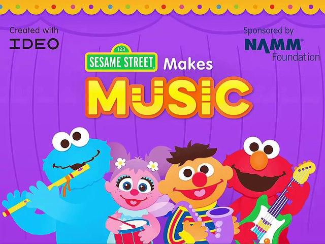 Sesame Street Makes Music by Sesame Street - Brief gameplay MarkSungNow