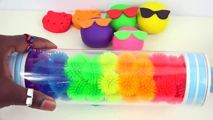 Learn Colours With Play Doh Sunglasses Mighty Toys Kids Children and Toddler Learn Colors