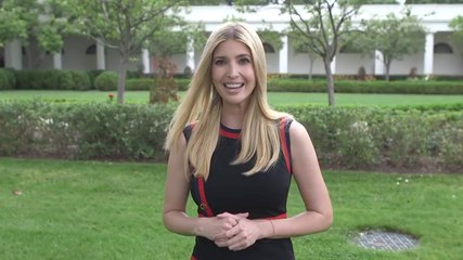 Ivanka Trump Leads Exercise On The White House Lawn