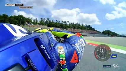 Pole position lap Rossi Mugello 2018