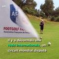 Vous avez un peu de ballon mais vous n'aimez pas courir ? Vous DEVEZ essayer le Footgolf (vous serez bien reçu par FootGolf France) :