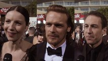 Outlander - Sam heughan, Caitriona Balfe & Tobias Menzies TV Crush [Sub Ita]