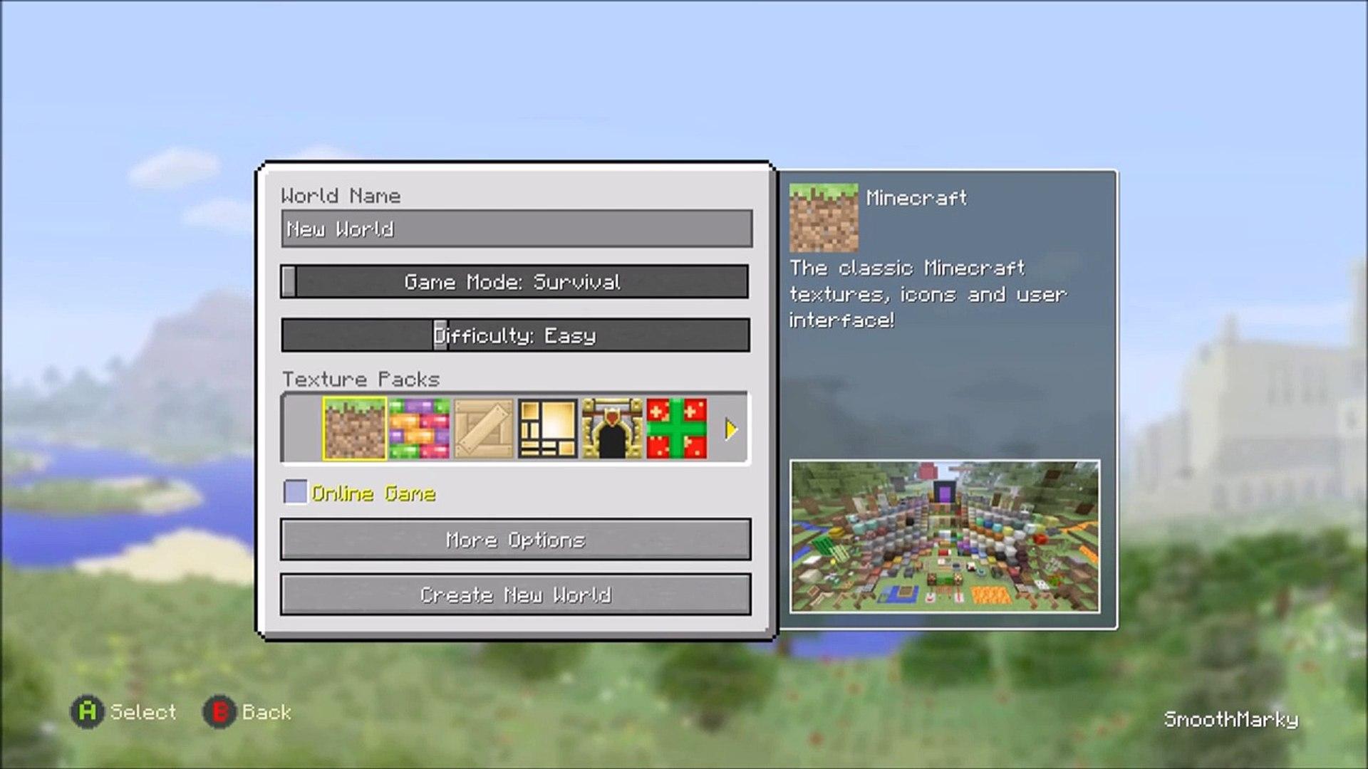 PROOF Of Herobrine in Minecraft Xbox ONE PS9 & Wii U Seed TU9