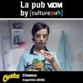 """Aujourd'hui, c'est la Pub VDM by Culture Pub: Cheetos.""""Moins c'est sérieux, plus c'est drôle"""""""