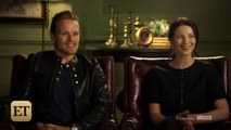 Outlander - Sam Heughan & Caitriona Balfe S2 ET Interview [Sub Ita]