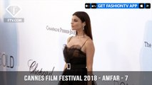 Lara Stone at the amfAR Gala at Cannes Film Festival 2018 | FashionTV | FTV
