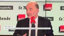 """Pierre Moscovici : """"Je pense que la France va mieux, ça a commencé avant, ça se poursuit maintenant"""""""