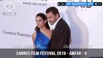 Sara Sampaio at the amfAR Gala at Cannes Film Festival 2018   FashionTV   FTV