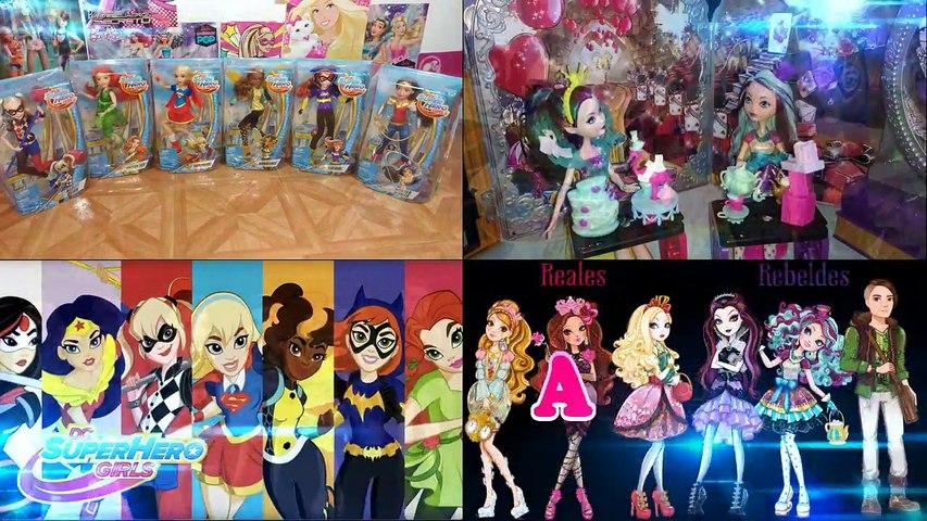 Mi Colección De Muñecas De La Mujer Maravilla!/ Wonder Woman Dolls