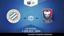 Finale U19 National I MHSC / SM Caen  - Dimanche 3 Juin à 16h00 (9)