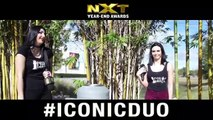 It's voting season on this beautiful Sunday the Iconic Campaign does not stop! We are out and about collecting votes for the NXT Year End Awards!! Not Flirting Season Iconic Duo