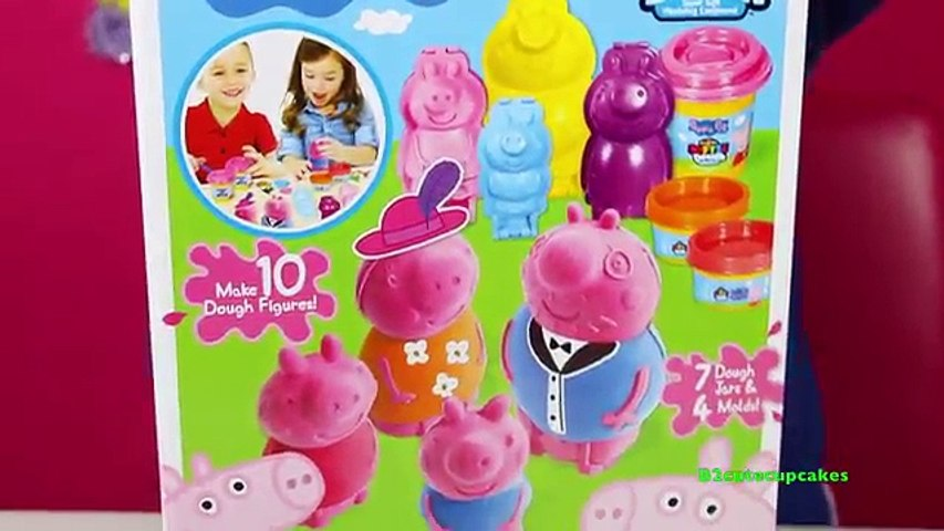 Tuesday Play Doh Peppa Pig Family Cra-Z-Art Softee Dough B2cutecupcakes