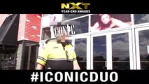 The Iconic Duo will take any opportunity to get the word out there that voting season for the WWE NXT Year End Awards is wrapping up! Get your votes in people