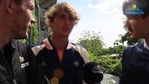 Roland-Garros 2018 - Quand Alexander Zverev se tape l'incruste avec Nicolas Mahut et Pierre-Hugues Herbert