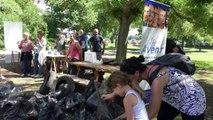 Alpes-de-Haute-Provence : les membres de l'association Idée Avenir ont nettoyé les abords du lac de Manosque